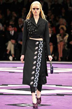 the jacket. Prada Fall 2012 Ready-to-Wear
