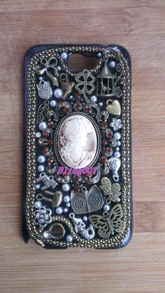cute+Galaxy+s3+case+vintage+style+cameo+iPhone+Case+by+Bling001,+$30.00