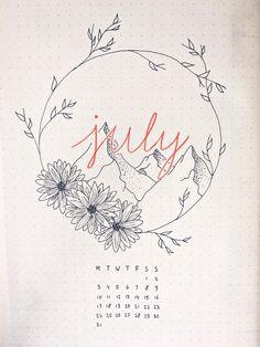bujo july | Tumblr