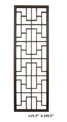 Long geometric rectangular wood panel contemporary screens and room dividers Wooden Window Design, Window Grill Design Modern, Grill Door Design, Gate Design, Door Grill, Demis Murs, Wall Separator, Metal Garden Gates, Ceramic Stool