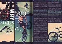 Sports Magazine Layout