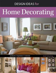 Learn new ideas for tasteful home décor with Design Ideas for Home Decorating. Inside, you'll find information on working with space, furniture arrangements, creating a color scheme, and finding your personal style. Learn basic design concepts and pick up savvy tips to transform your ordinary house into a beautiful home!