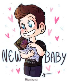 Chris Colfer's new baby by @sunshunes 7/12/16