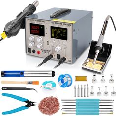 usb Soldering iron Heat Gun Power Welding Repair Solder Station With Gifts or Welding Equipment, Heat Gun, Soldering Iron, Ham Radio, Guns, Tools, Weapons Guns, Instruments, Revolvers