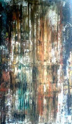 Tecbica mista sobre tela 120 x 70 cm