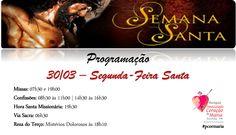 Segunda-Feira Santa - 30/03