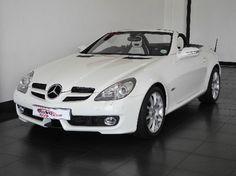 Mercedes Benz SLK350 - White & black
