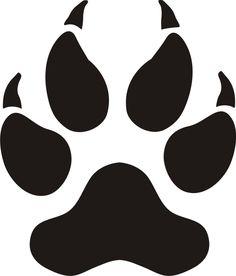 Panther paw logos google search harrah pinterest for T shirt printing norcross ga