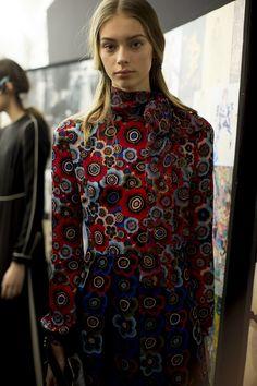 Valentino Fall 2015 RTW Backstage - Vogue