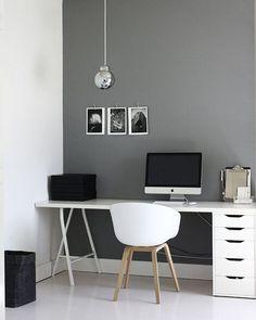 Modern Desk Inspiration #Modern #Desk