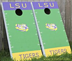 #DIY Corn Hole #Tailgating Game Using Scotch Colors and Patterns Duct Tape #scotchducttape