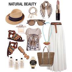 Y por fin es viernes...!!! Aquí os dejo el #outfit creado de hoy, neutral y natural en tonos tierra