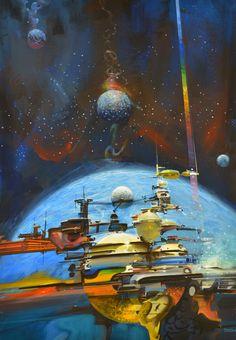 John Berkey Art Ltd. | Gallery - Space