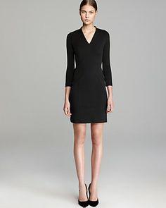 HELMUT Helmut Lang Dress - Slim Sleeve Pulse   Bloomingdale's