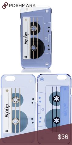 Mix Tape iPhone 6/6s Case A cassette tape graphic with 'Mix it Up' lettering lends retro charm to this hardshell Kate Spade New York iPhone case. Formfitting construction with button, cord, and camera access. Fits iPhone 6 & iPhone 6s. kate spade Accessories Phone Cases