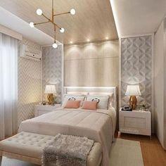 70 móveis que darão um charme ao pé da cama em seu quarto