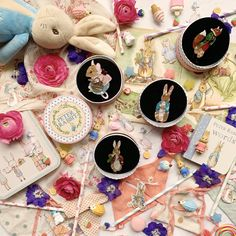 Peter Rabbit Brooch collection