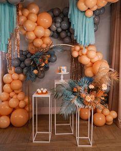 """Шары⭕️Party shop⭕️Ростов on Instagram: """"Возможна ли фотозона без банера, круга, надписей и фонов? Конечно!! Вы только посмотрите, как стильно вышла наша инсталляция в рамках…"""" Balloon Decorations, Birthday Party Decorations, Birthday Parties, Birthday Month, Ballon Backdrop, Balloon Garland, Baby Party, Baby Shower Parties, Balloons Galore"""