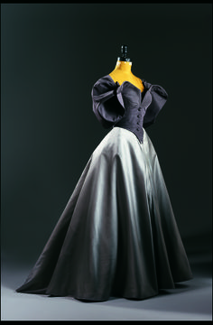Charles James, American. Ball Gown with Jacket, c. 1950, silk taffeta, duchess silk satin and silk taffeta.