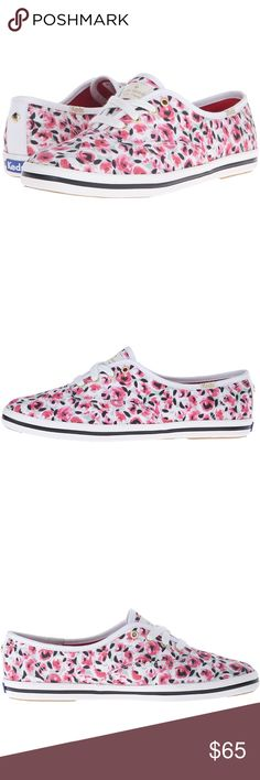 Kate Spade Keds Adorable pink rose patterned Keds, Kate Spade edition. Size 8, brand new in the box. kate spade Shoes Sneakers