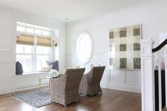 Sitting room walls: http://www.stylemepretty.com/living/2015/07/31/white-paint-go-tos/