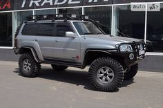 Nissan Patrol 3.0 dTi 2009 (фото: 5) Nissan Patrol Y61, Portal Axles, Patrol Gr, Rigs, F1, Offroad, Safari, Vehicles, Awesome
