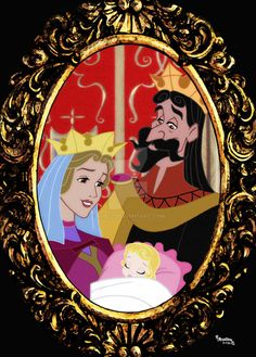 Princess Aurora's Mother and Father, Queen Leah and King Stefan