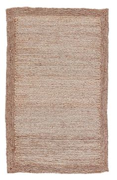 Aboo Jute Natural Area Rug Natural Fiber Rugs, Natural Area Rugs, Bohemian Pattern, Bohemian Rug, Border Rugs, Solid Rugs, Coastal Style, Beige Area Rugs
