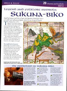 Legend and Folklore Symbols: Sukuna-Biko