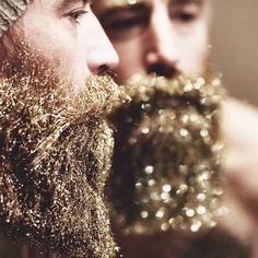 Beard - Barbe - Glitter - Gold
