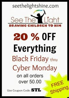 20% off everything at See the Light!