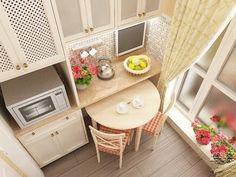 Idea for small kitchen / идея: маленькая кухня