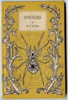 Vintage Book Covers: Spooky Beautiful Antiques  Whether or not you like spiders…this is rather special.