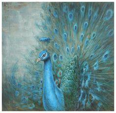 Venta al por mayor del pavo real pinturas al óleo de la lona pintura al óleo hermosa abstracta pinturas al óleo sobre lienzo de pintura y caligrafía envío gratis