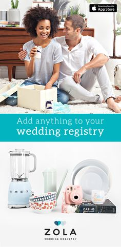 It's the wedding registry that will do anything for love. Install Zola and create, customize, and manage your registry anytime, anywhere. Fill it with gifts, experiences, and cash funds. It's everything you want in one registry. Create yours today.