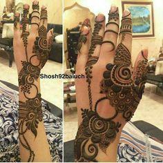 Mehandi design luv it Modern Henna Designs, Henna Art Designs, Mehndi Designs 2018, Mehndi Designs For Girls, Wedding Mehndi Designs, Mehndi Designs For Fingers, Mehandi Designs, Tattoo Designs, Khafif Mehndi Design