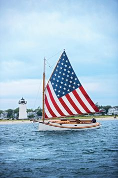 Private Sailing Charters in Edgartown, Martha's Vineyard Cape Cod, Sailing Charters, Home Of The Brave, Land Of The Free, Old Glory, God Bless America, First Nations, Red White Blue, American Flag