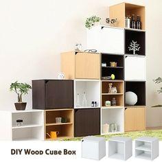 DIY Multi-purpose Cube Box Rack