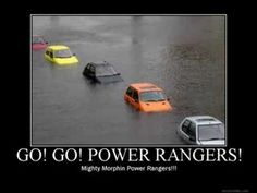Go! Go! Power Rangers!