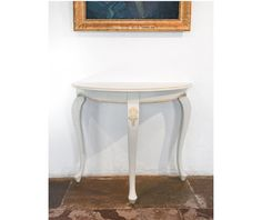 Table in Rococo Console, Half Moon style (item no: 4344). Visit our homepage for more information and to view all your finish & fabric options. /SWSC