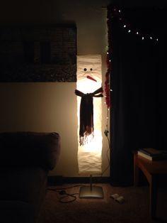 Snowman lamp Snowman, Lighting, Christmas, Home Decor, Xmas, Decoration Home, Room Decor, Lights, Navidad