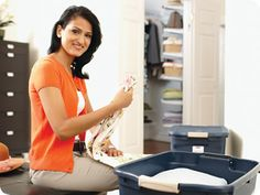 The Closet Switch-Out -- a how-to for installing rubbermaid's closet systems