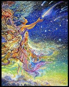 Dreams of Human Flight - Josephine Wall Art Stars | Singing a New Song: Catch a falling star...