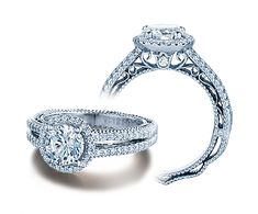 VENETIAN-5007R-4 engagement ring from The Venetian Collection of diamond engagement rings by Verragio