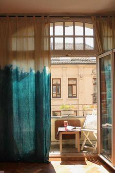 Bildresultat för dip dye curtain