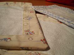 Norobe, hand made: Más toallitas para el bebé