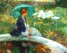 The Pool(c.1910)  Richard Emile Miller
