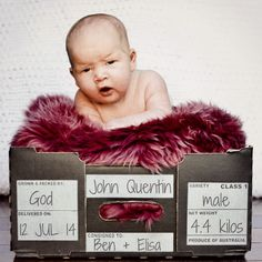 Adorable baby photo idea from @blissfule !