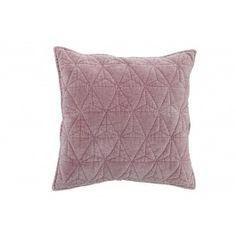 Blush Pink Square Cushion