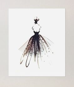 Image of Tulle Gown | Poster